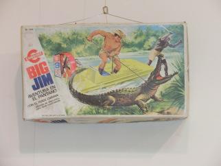 Exposición de juguetes caja big jim