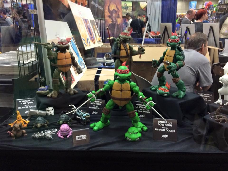 San Diego Comic Con 2015 Mondo Ninja Turtles