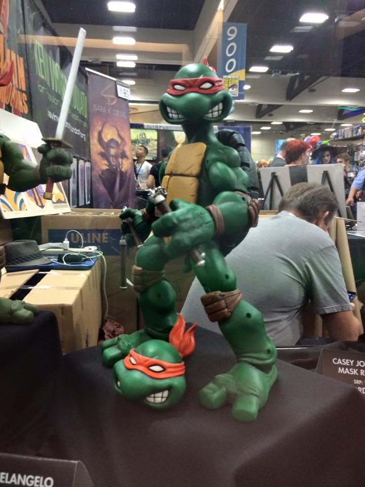 San Diego Comic Con 2015 Mondo Michelangelo