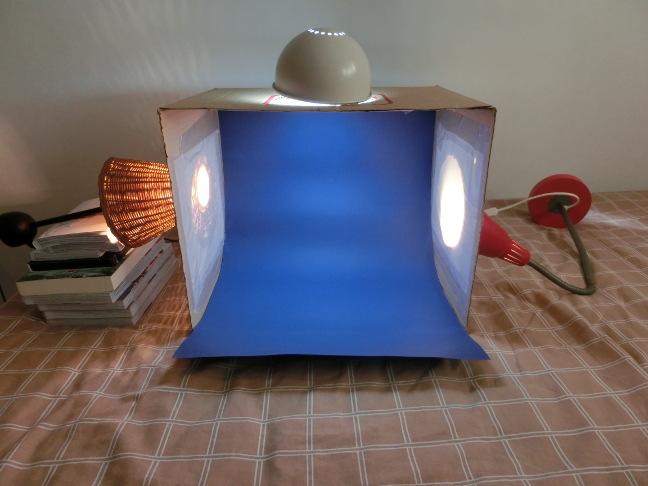 Caja de luces terminada