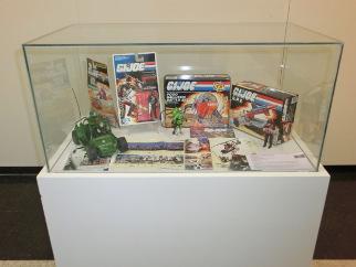 Exposición de juguetes gijoe