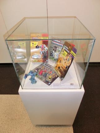 Exposición de juguetes Transformers