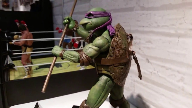 New York Toy Fair 2016 Neca Donatello