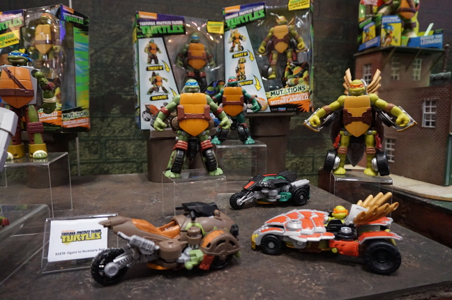 TMNT mutations line on New York Toy Fair 2016