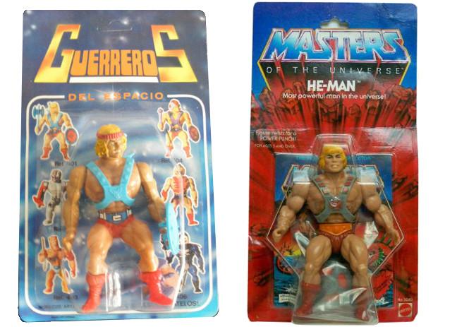 bootlegs Masters del Universo