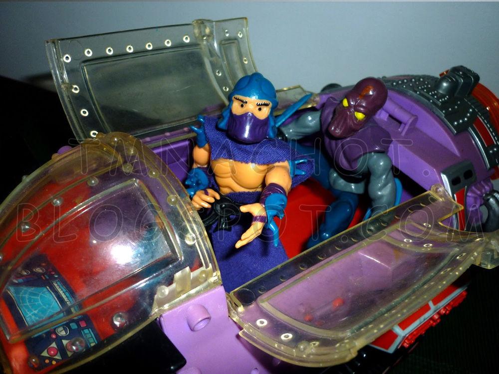 El módulo mutante de Shredder