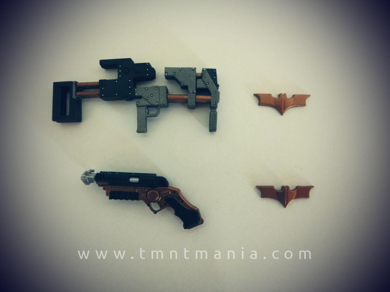 SH Figuarts Batman armas