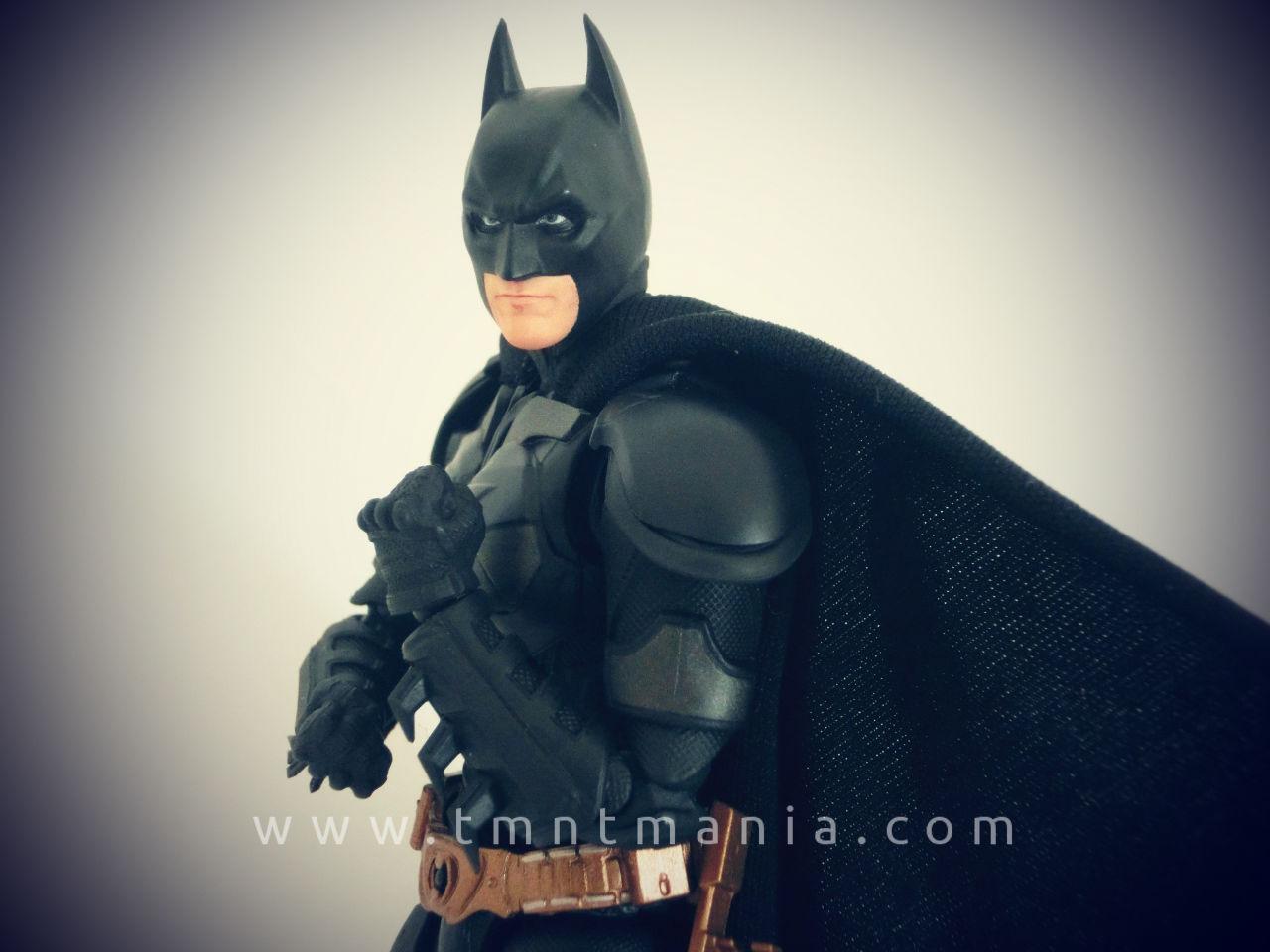 SH Figuarts Batman articulación brazo