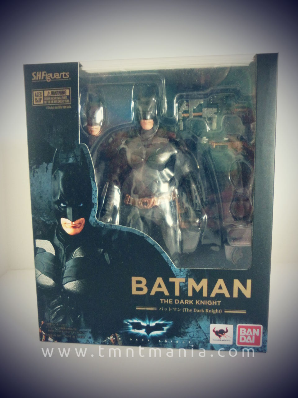 SH Figuarts Batman Packaging Front