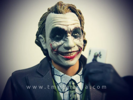 Detalle de la cara del Joker