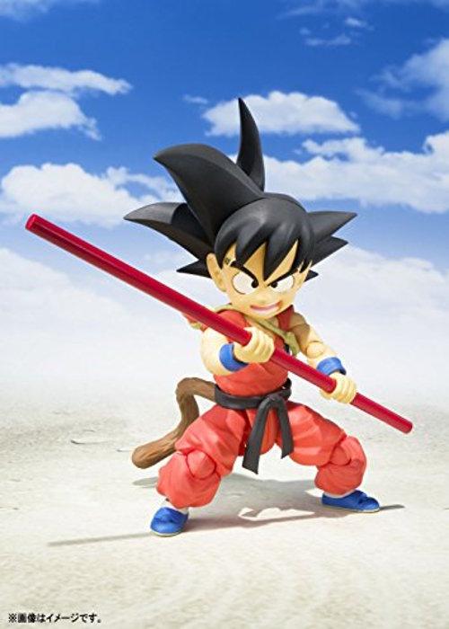 Imagen promocional de la figura de Goku niño
