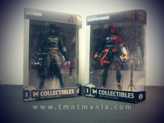 Parte frontal del blister de DC Essentials