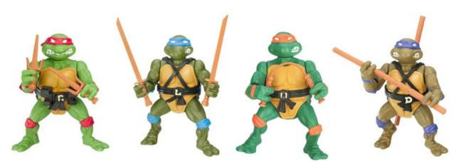 Juguetes de Las Tortugas Ninja vintage