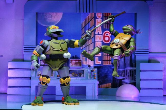 Figura de Metalhead con Donatello