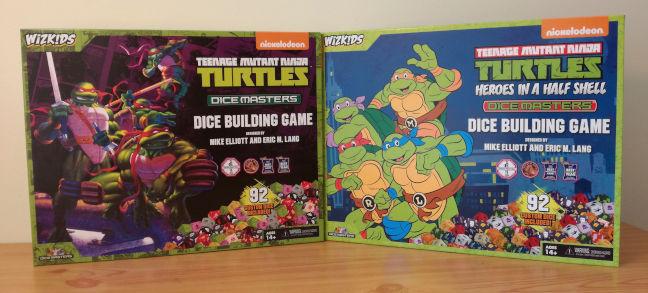 Las dos versiones de Dice Masters Tortugas Ninja