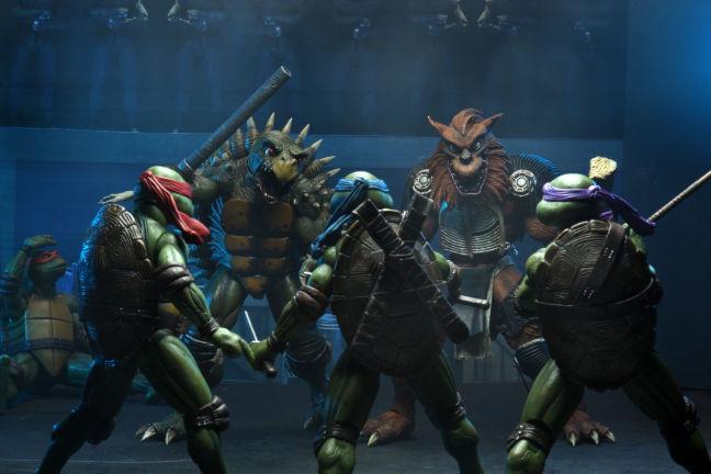 Imagen de Tokka y Rahzar contra las Tortugas Ninja