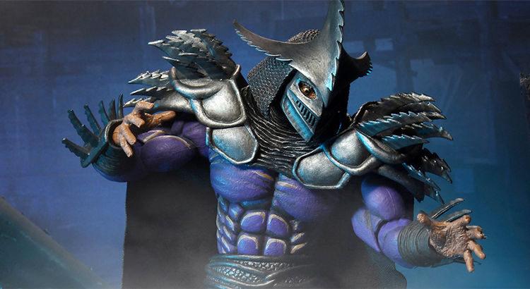 Detalle de la figura de Super Shredder de Neca