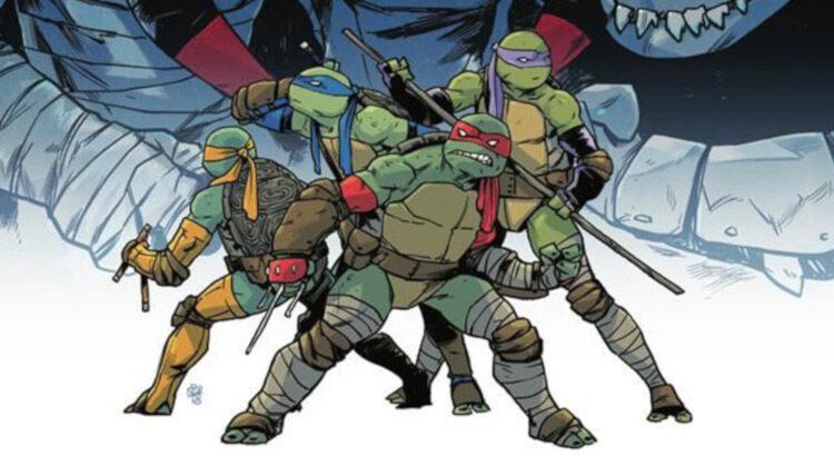 cómics de las tortugas ninja en español portada