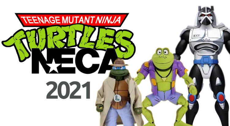 imagen portada novedades neca tortugas ninja 2021