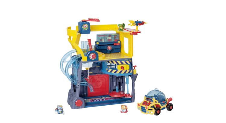 imagen de playset de juguetes superzings
