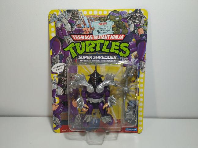 Imagen de las figuras de Super Shredder de la línea vintage