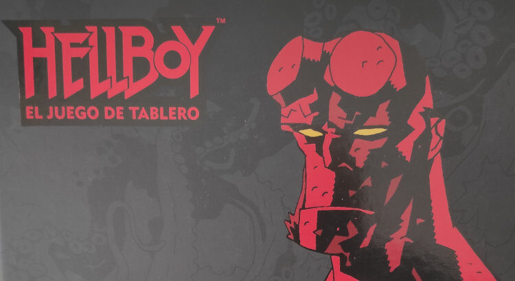 HellBoy the board game portada
