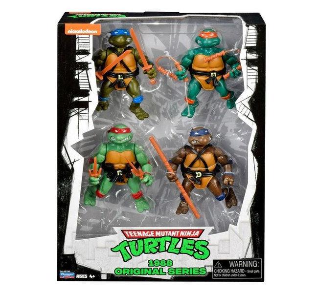 Figuras 35 aniversario Tortugas Ninja