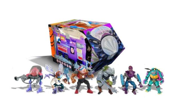 Set del módulo mutante de la nueva línea retro de Playmates