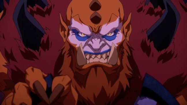 Imagen de Beast Man de la nueva serie Masters del Universo Revelación