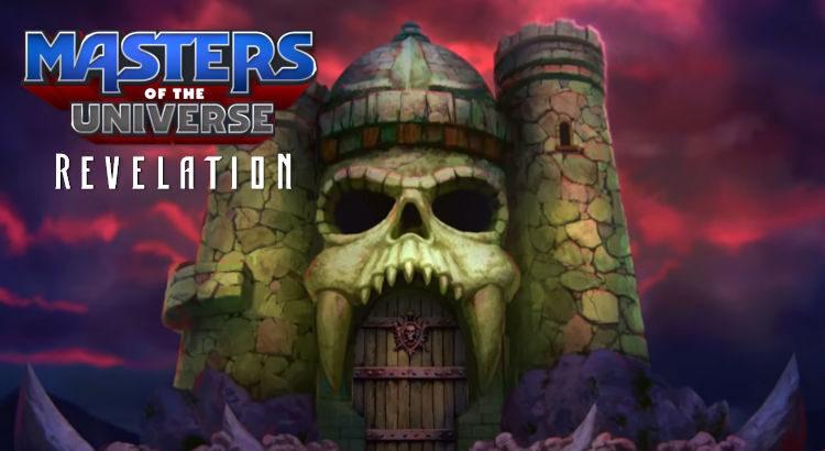 Imagen de portada para el trailer masters del universo revelación