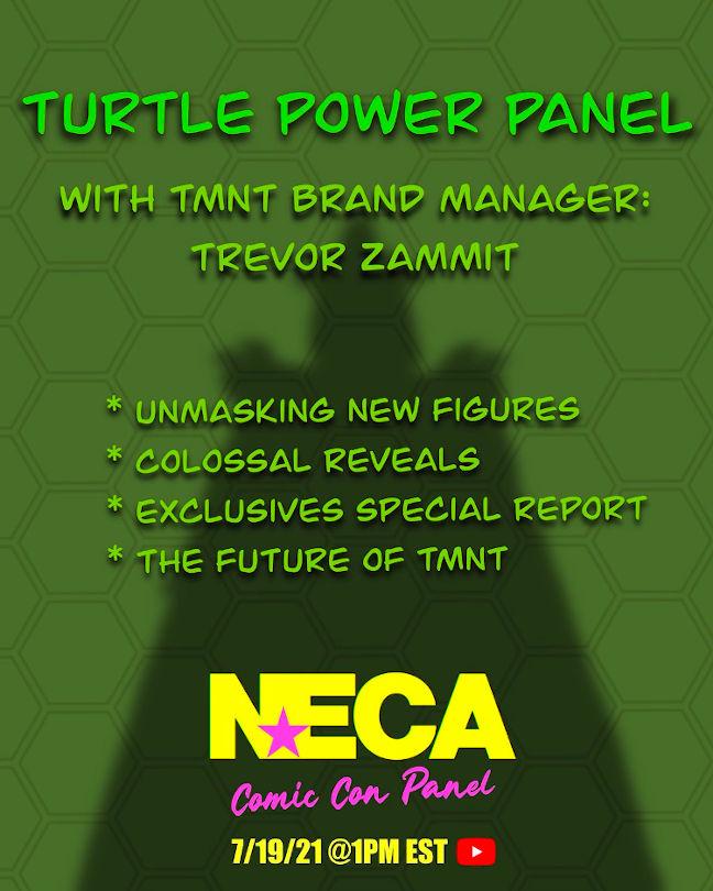 Cartel Panel SDCC21 Neca