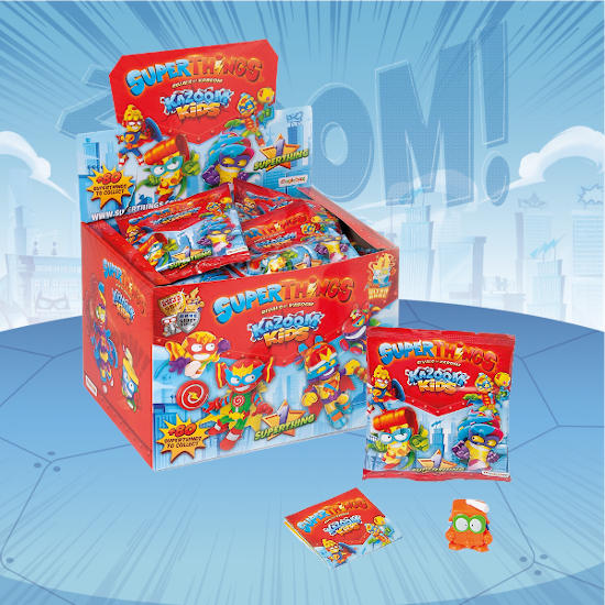 Superthings serie 8 single pack